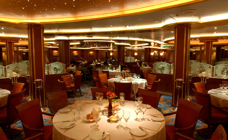 Caribbean Princess Anytime Dining Room