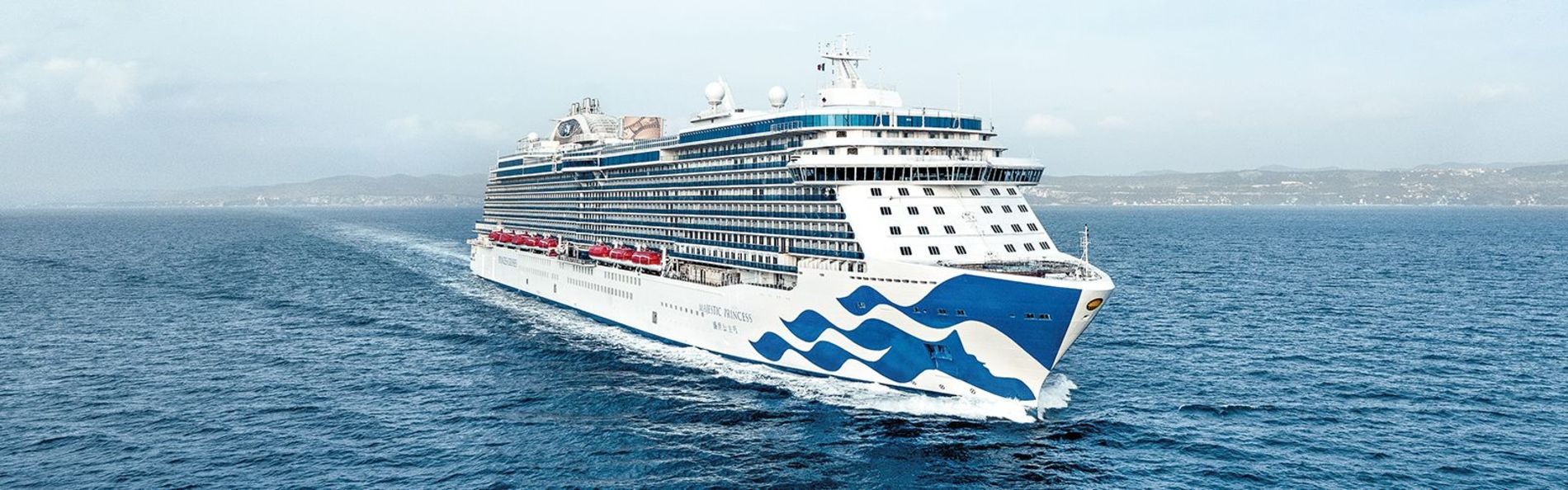 A photo of the Majestic Princess cruise ship