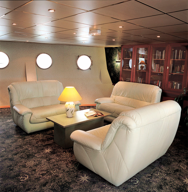 CroisiEurope - Douce France - Accommodation - Library - Photo _1_.jpg